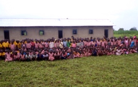 Just some of the children who will benefit from the ECD Paorinder Centre, just completed!