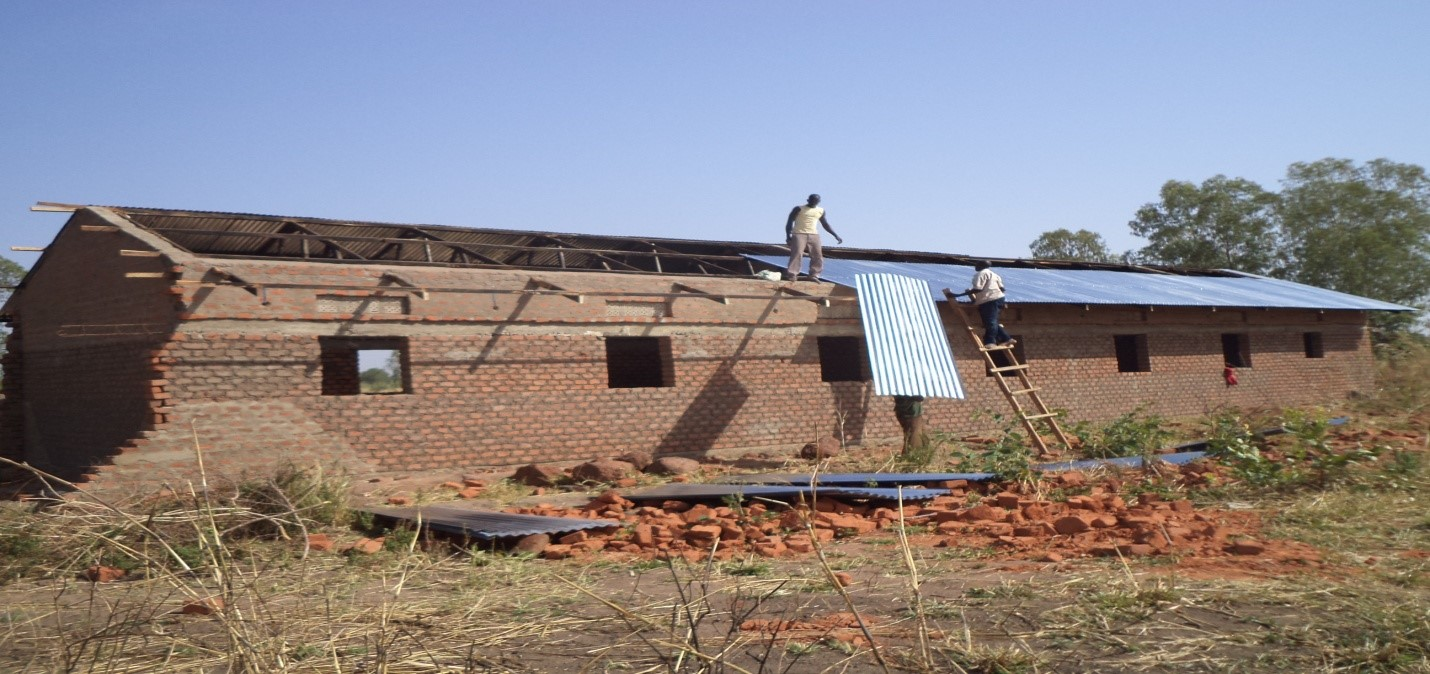 Early Child Development block Uganda construction